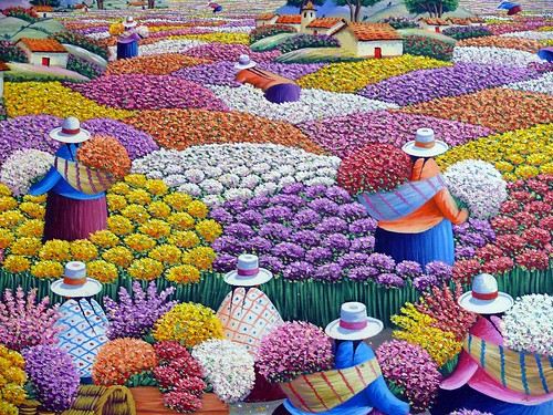 pintura peruana / a set by paramonguino