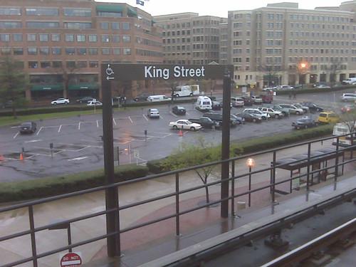 King Street Metro Parking Lot