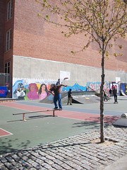 100_3465 (Mindsay Mohan) Tags: boy girl train landscape skateboarding metro board skating north skaters skatepark skateboard skater metronorth