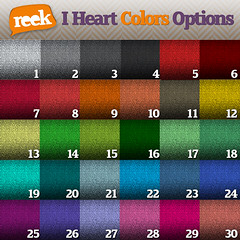 Reek - I Heart Colors Belt - Color Options