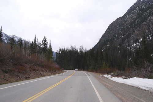 SR 20 west of Mazama