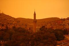 Rain and Sandstorm Over Şanlıurfa