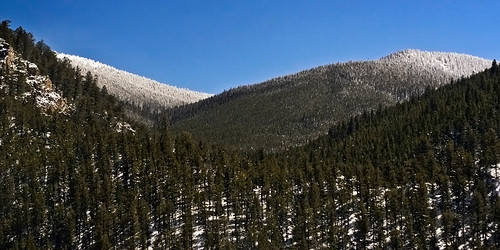 The view while going up toward Monarch Pass.
