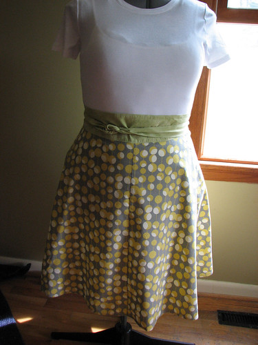 Yard Sale Skirt