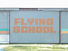 Flying School Wall