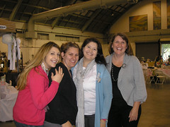 Me, Claire, AnnDenise, Katie!