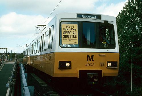 Tyne And Wear Metro. Tyne amp; Wear Metro: 4002 South