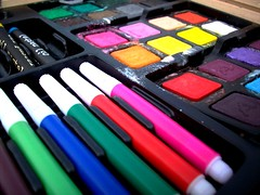 color (i'm your zero) Tags: color paint bright pastels oil markers