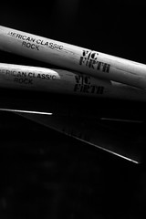 Drum stick reflections (Smak! Studio Photography) Tags: music reflection art keys play drum live dream piano negative kawaii drummer strings crisscross sheetmusic drumsticks babygrand vicfirth blackwhitephotos