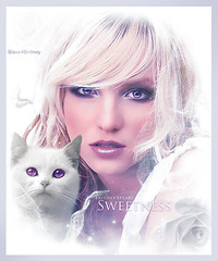 Britney Spears [ Sweetness ] (© Omar Rodriguez V.) Tags: roses woman art fashion rose rock photomanipulation star graphicdesign photo artwork glamour kitten amy princess sweet designer spears circus madonna banner kitty pop queen fantasy seek omar sweetness britney rodriguez womanizer slave4britney