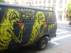 neck face van (sevenbc) Tags: nyc graffiti lowereastside van neckface