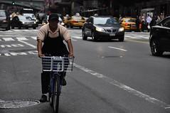 _DSC2793 (Stephen Berner aka steveb_leatherworks) Tags: nyc newyorkcity danger cyclists chains traffic motorcycles bikes running riding locks fixed commuting fixie bikelane nofun commuters riders helmets deathwish bicyclists tenspeed toughguys messengers hardlife payingattention twowheelers badstreets nikond90club