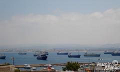 Veiw from Arwad Island to Tartus.. (Jasmin Ahmad) Tags: island photography boat syria veiw سوريا تصوير tartus arwad طرطوس جزيرة ارواد