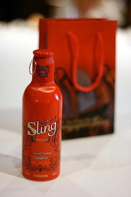 Door gift of Singapore Sling