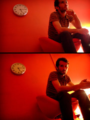 + red + (+ LZNINGER +) Tags: red selfportrait dijon backstage greenroom brokenclock lozninger lzninger lavapeur