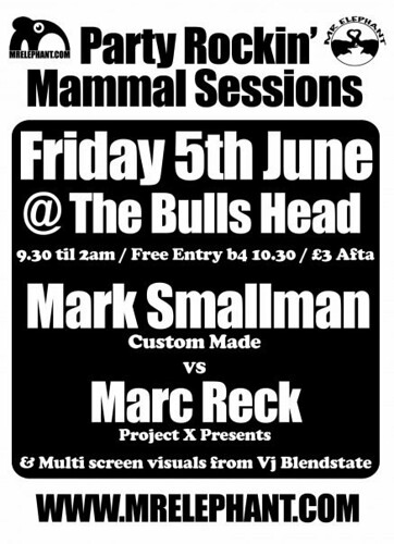 Party Rockin Mammal Sessions 6