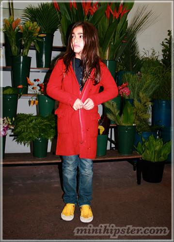MICHAELA. MiniHipster.com: children's childrens clothing trends, kids street fashion, kidswear lookbook