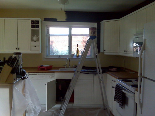 Kitchen goes black