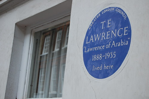 Lawrence of Arabia blue plaque