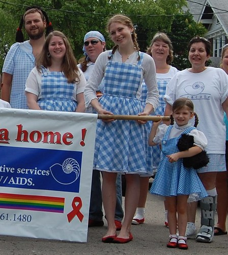 Cincinnati Pride Parade Outfit