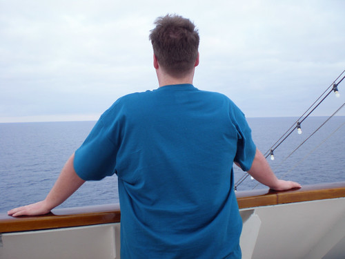 Carnival Elation - Mike on the Deck