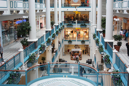 The Bay Centre Shopping Mall