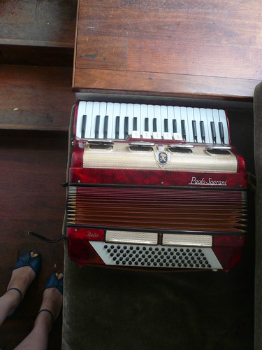 Accordion; Dancing Shoes