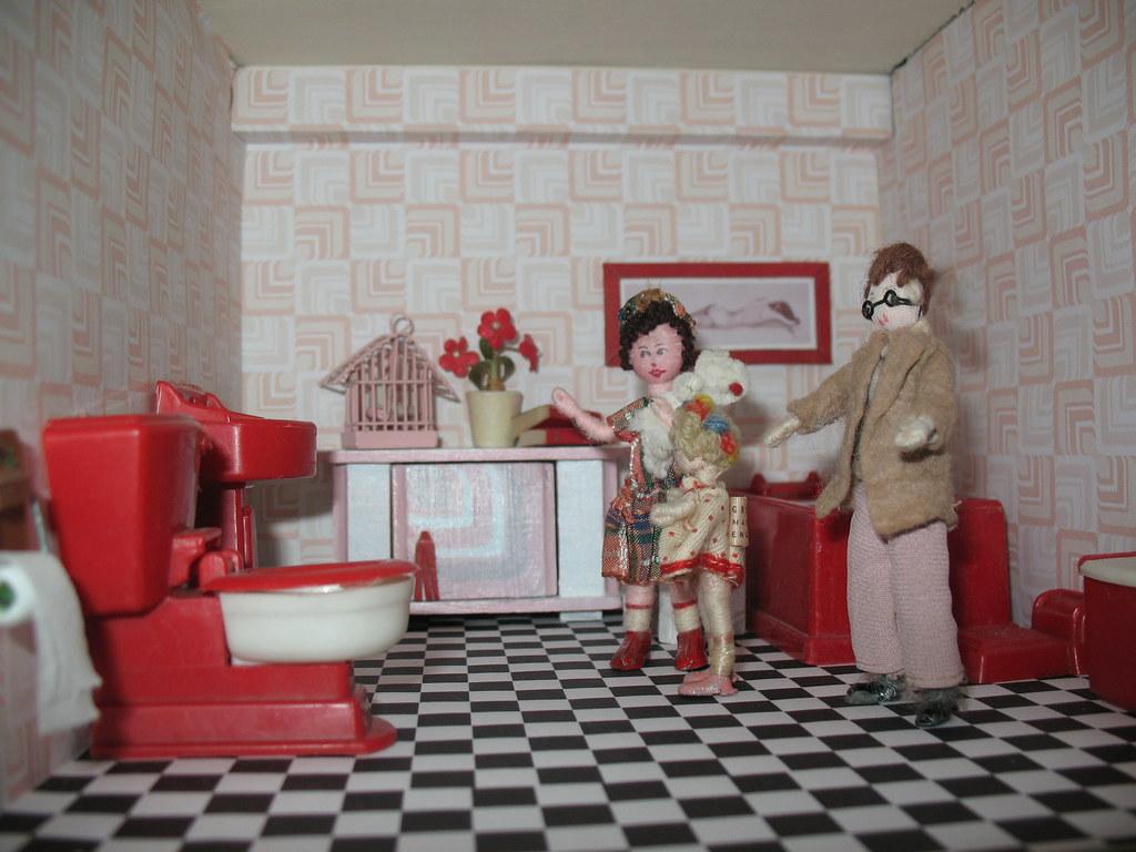 At last, Maimie has the Bathroom She Has Always Wanted! 8/365