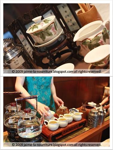 SCDH - tea set
