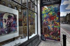 C215 - Shoeshiners show (Signal gallery - London) (C215) Tags: streetart art mike french graffiti stencil christian carf pochoir masacara szablon c215 schablon guémy piantillas