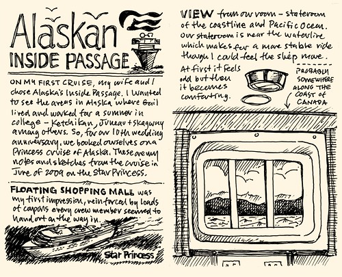 Mike Rohdes Alaskan Cruise 09 Sketchnotes.