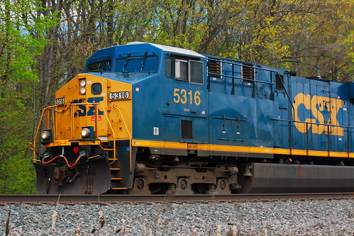 CSX #5316 - GE Evolution Series ES44DC! | Flickr - Photo Sharing!