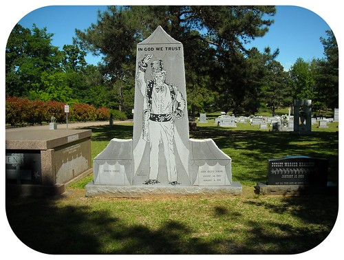 showmen's rest in mt olivet cemetery