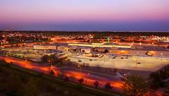 Oakville Sunset (fadi3) Tags: longexposure sunset sky toronto ontario canada mall d50 geotagged nikon place nikond50 dslr oakville 2010 18135mm fadi3