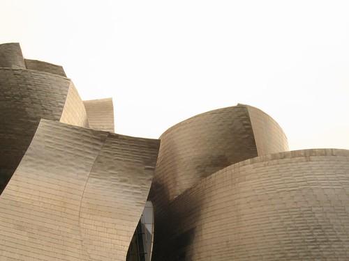 Museo Guggenheim de tarde - Bilbao - España