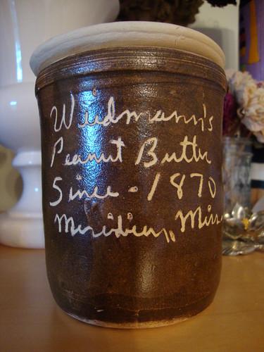 Weidmann's Peanut Butter Crock, Meridian MS
