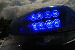 Surrey Police BMW 5 series - LED lightbar