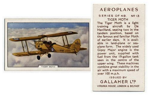 007-Tiger Moth. (ca. 1934-1939)