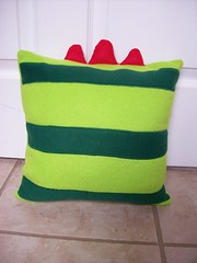 Brobee pillow back
