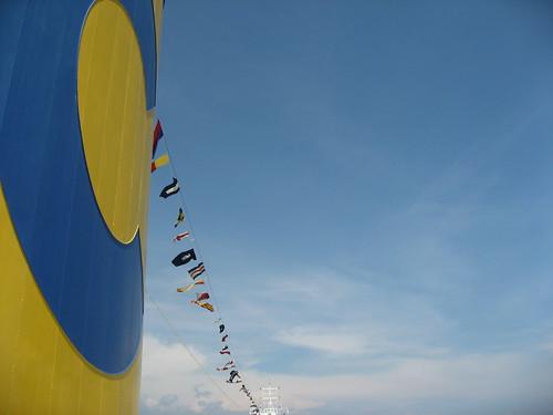 Chimenea del Costa Concordia