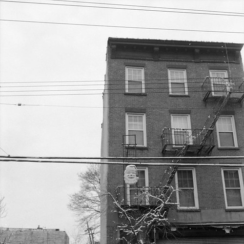 Ilford Delta 400 - Red Hook, Brooklyn