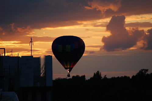Balloon over Vathorst