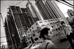 the big city (fly) Tags: street people thailand blackwhite asia bangkok fly simonkolton