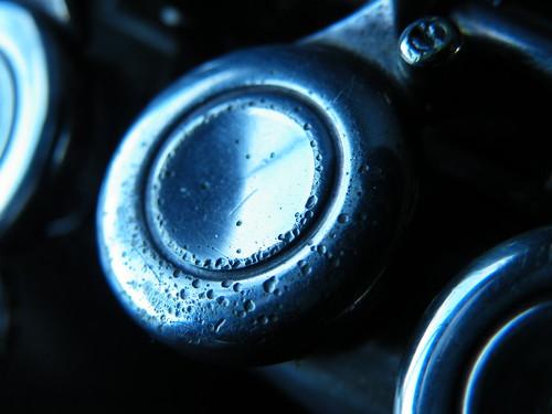 macro photograph flute keys