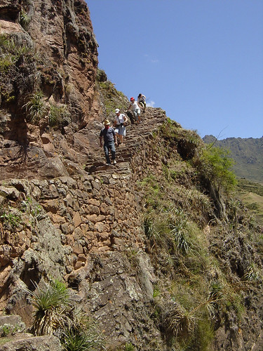 The path to the Inca Ruins near Taray