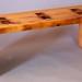 Reclaimed Pine Minimalist Coffee Table
