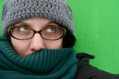 me, bundled up