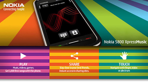 Win the new Nokia 5800 XpressMusic!‏