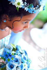 Bridesmaid Sri Lankan wedding (martinpettersson.com) Tags: flowers wedding portrait girl beautiful 50mm kid nikon sri lanka bridesmaid d200 18
