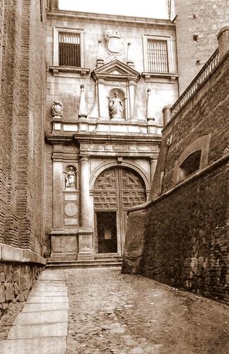 Antiguos depósitos de agua de Toledo en la Plaza de San Román